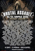 Brutal Assault 2016 - sobota