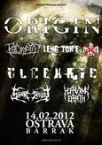 Burning Winter vs. Occupy Europe - ORIGIN, PSYCROPTIC, ULCERATE, SVART CROWN, LENG TCH'E, HEAVING EARTH
