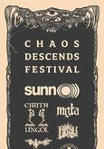 Chaos Descends festival 2017