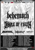 CRADLE OF FILTH, BEHEMOTH, IN SOLITUDE, INQUISITION, SVARTTJERN
