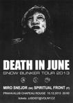 DEATH IN JUNE, MIRO ŠNEJDR, SIMONE SALVATORI