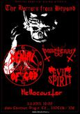DENIAL OF GOD, EVIL SPIRIT, HELLOCAUSTOR, GOATCRAFT