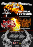 HEAVING EARTH, IMPERIAL FOETICIDE, BRUTALLY DECEASED, ALIENATION MENTAL