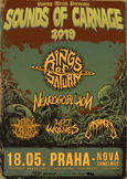 RINGS OF SATURN, NEKROGOBLIKON, MENTAL CRUELTY, LEFT TO THE WOLVES, HARBINGER