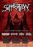 SUFFOCATION, ANNOTATIONS OF AN AUTOPSY, NERVECELL, FLESHGOD APOCALYPSE, BURNING THE MASSES