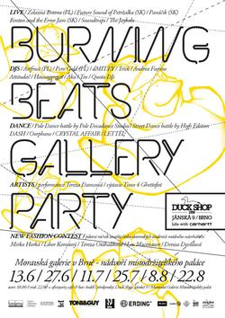 burningBEATS GALLERY pARTy