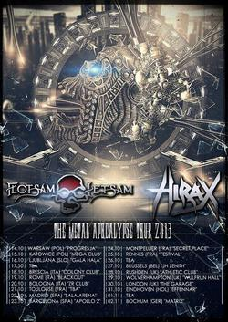 Flotsam And Jetsam tour