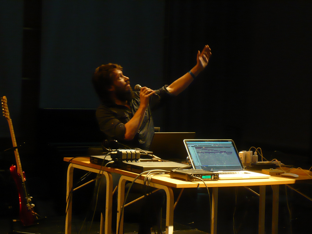 Deathprod / Helge Sten - improvisation is a tool to compose