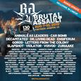 Update kapel na Brutal Assault a aftermovie z 2018