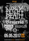Campaign For Musical Destruction v čele s NAPALM DEATH