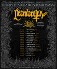Europe Desecration Tour 2016 - NECROWRETCH (death/black FRE)