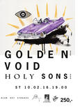 GOLDEN VOID a HOLY SONS (USA, Thril Jockey)