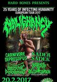 MALIGNANCY, CARNIVORE DIPROSOPUS, NADER SADEK, EMBRYONIC DEVOURMENT, STAGES OF DECOMPOSITION
