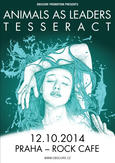 Progresivci ANIMALS AS LEADERS a TESSERACT v Praze